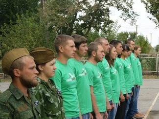 Тамбовские поисковики приняли участие в «Вахте Памяти» в Ростовской области