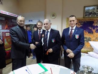 Итальянская делегация посетила обновленный музей поискового движения в Оренбурге